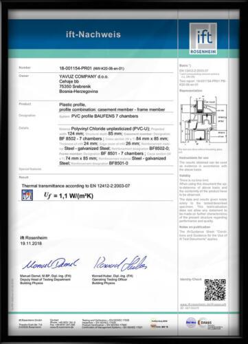 IFT Rosenheim BAUFENS