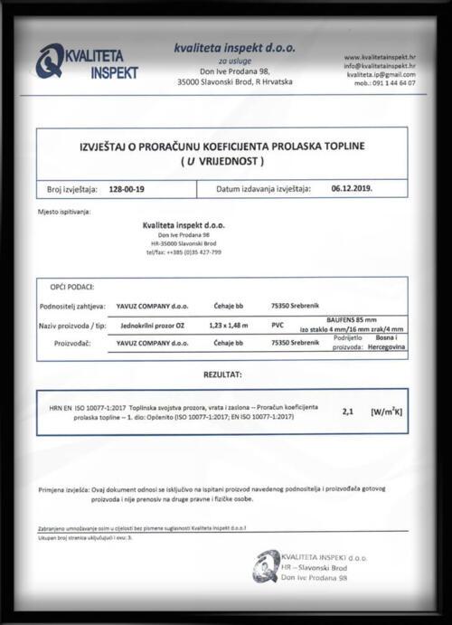 Kvaliteta inspekt BAUFENS 1